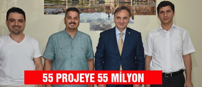 55 PROJEYE 55 MİLYON