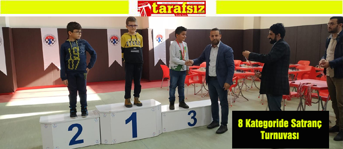 8 Kategoride Satranç Turnuvası