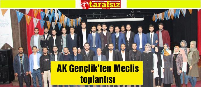 AK Gençlik'ten Meclis toplantısı