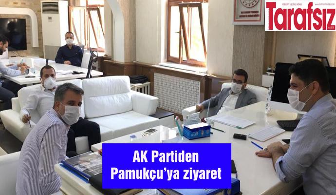 AK Partiden Pamukçu'ya ziyaret