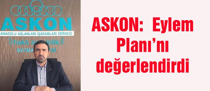 ASKON:  Eylem Planı'nı değerlendirdi