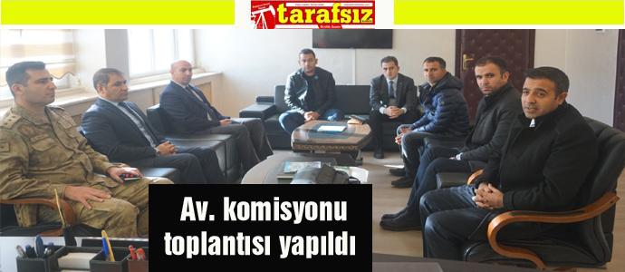 Av. komisyonu toplantısı yapıldı