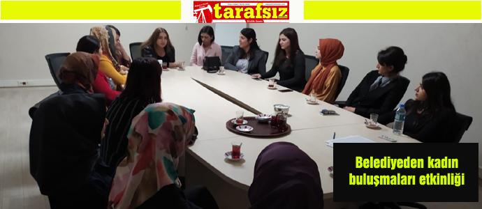 Belediyeden kadın buluşmaları etkinliği