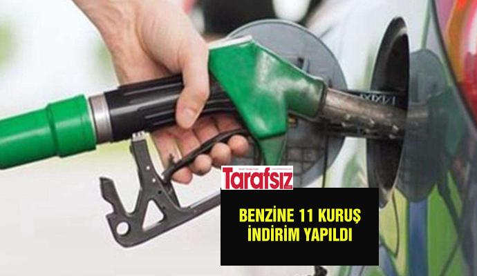 Benzine 11 kuruş indirim yapıldı