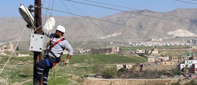 Dicle Elektrik Hasankeyf'te işbaşında