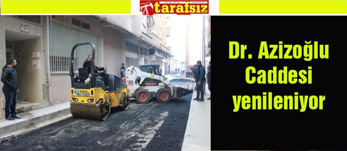 Dr. Azizoğlu Caddesi yenileniyor