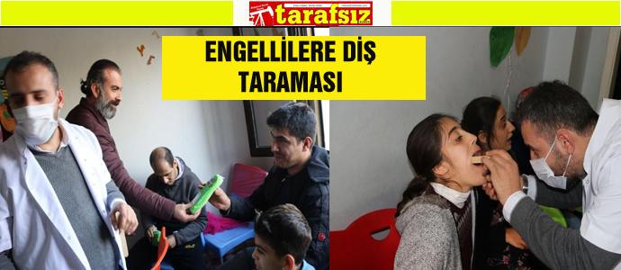 ENGELLİLERE DİŞ TARAMASI