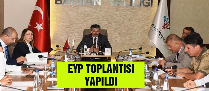 EYP TOPLANTISI YAPILDI