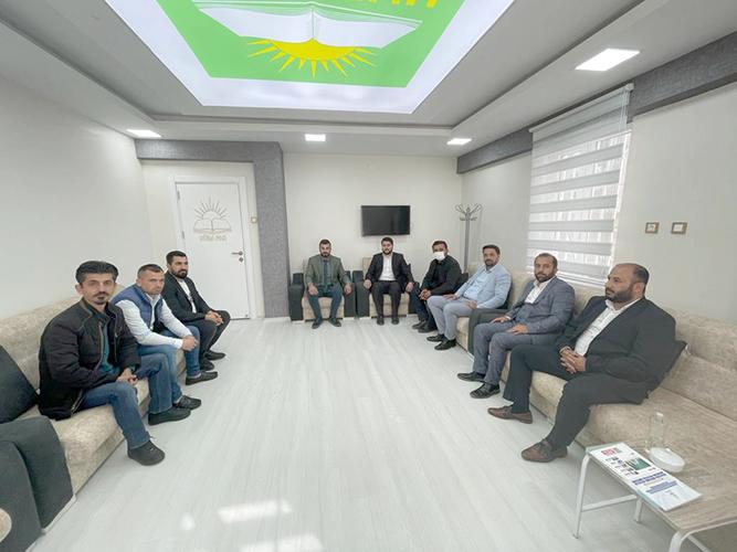 GELECEK PARTİSİ'NDEN HÜDA PAR'A ZİYARET
