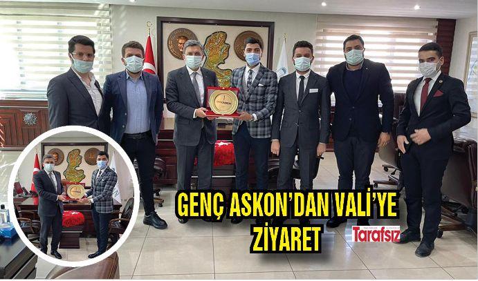 GENÇ ASKON'DAN VALİ'YE ZİYARET