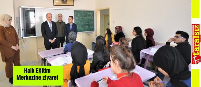 Halk Eğitim Merkezine ziyaret