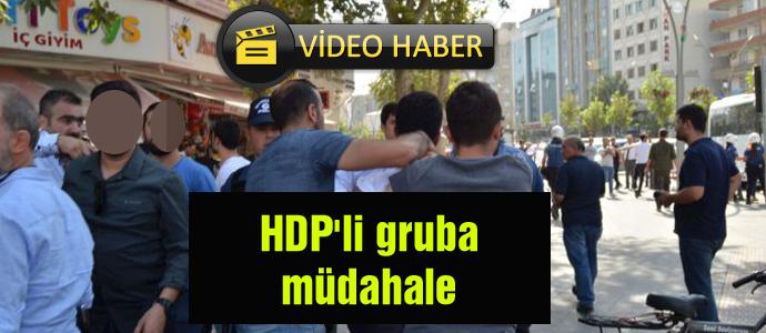 HDP'li gruba müdahale