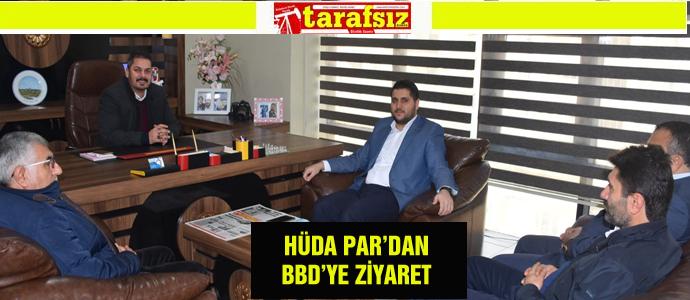 HÜDA PAR'DAN BBD'YE ZİYARET