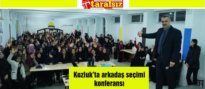 Kozluk'ta arkadaş seçimi konferansı