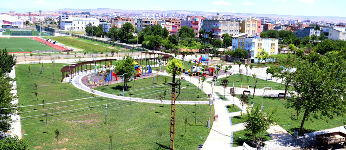 Mahallenin ilk parkı