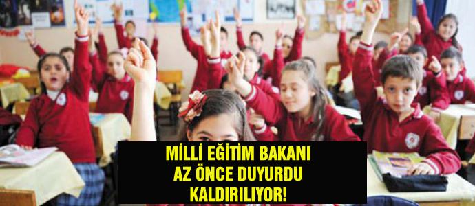 Milli Eğitim Bakanı Ziya Selçuk duyurdu!