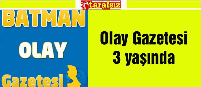 Olay Gazetesi 3 yaşında