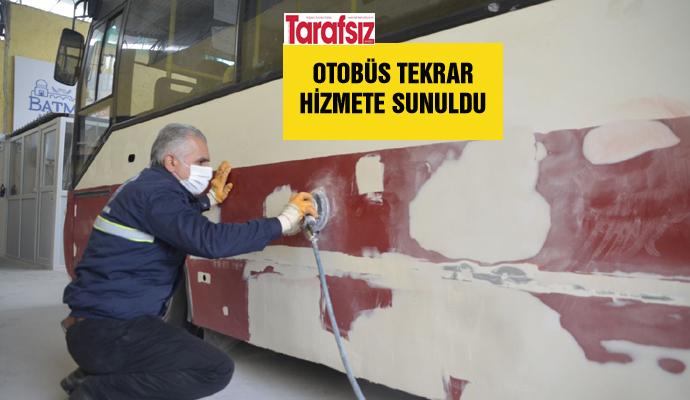 OTOBÜS TEKRAR HİZMETE SUNULDU