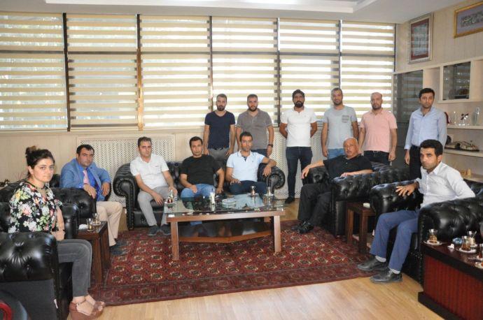 Şehit ve Gazi ailelerinden Durmuş'a ziyaret
