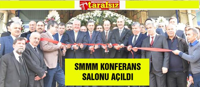 SMMM KONFERANS SALONU AÇILDI