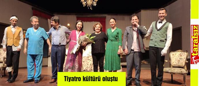 Tiyatro kültürü oluştu