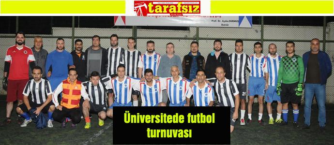 Üniversitede futbol turnuvası