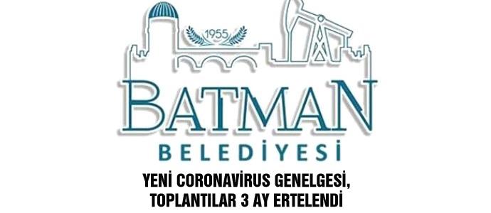 YENİ CORONAVİRUS GENELGESİ, TOPLANTILAR 3 AY ERTELENDİ