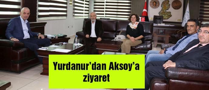 Yurdanur'dan Aksoy'a ziyaret