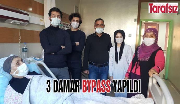 3 DAMAR BYPASS YAPILDI