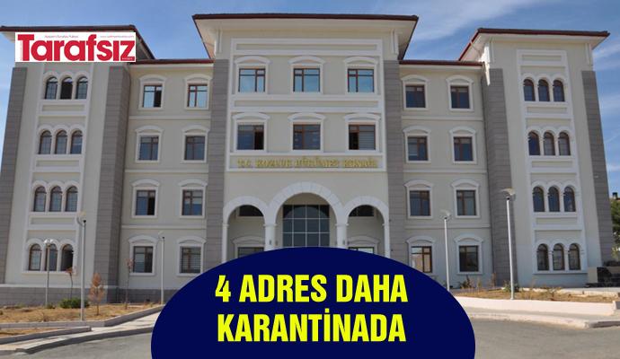 4 ADRES DAHA KARANTİNADA