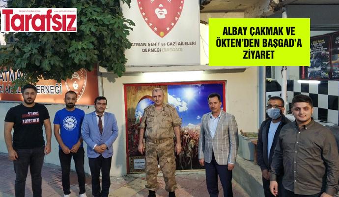 ALBAY ÇAKMAK VE ÖKTEN'DEN BAŞGAD'A ZİYARET