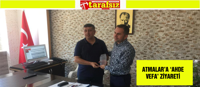 ATMALAR'A 'AHDE VEFA' ZİYARETİ