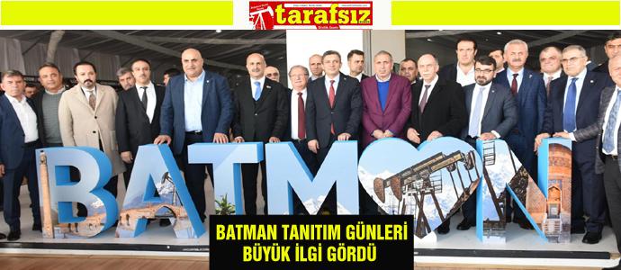 BATMAN TANITIM GÜNLERİ BÜYÜK İLGİ GÖRDÜ