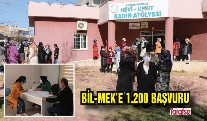 BİL-MEK'E 1.200 BAŞVURU