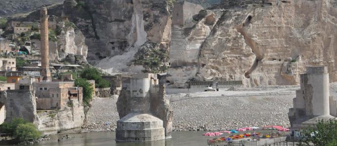 El Rızk Camii minaresi, taşınacak