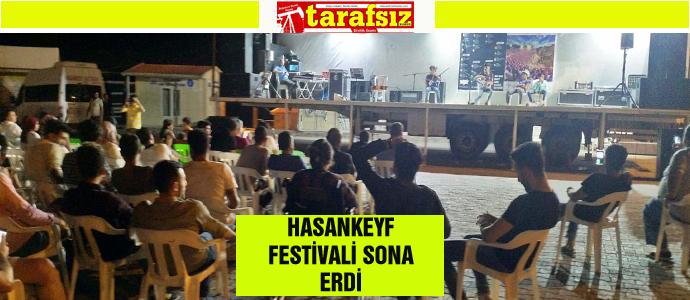 HASANKEYF FESTİVALİ SONA ERDİ