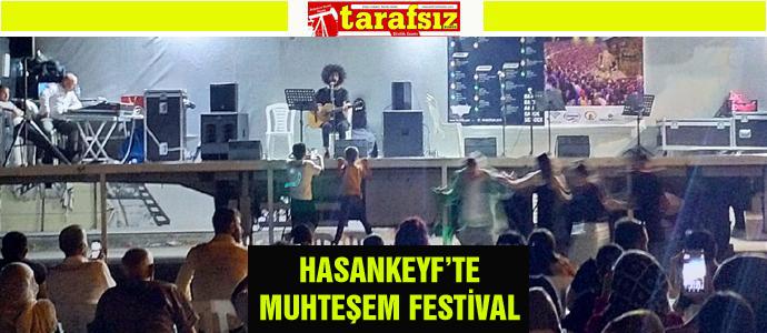 HASANKEYF'TE MUHTEŞEM FESTİVAL