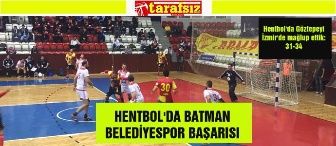HENTBOL'DA BATMAN BELEDİYESPOR BAŞARISI