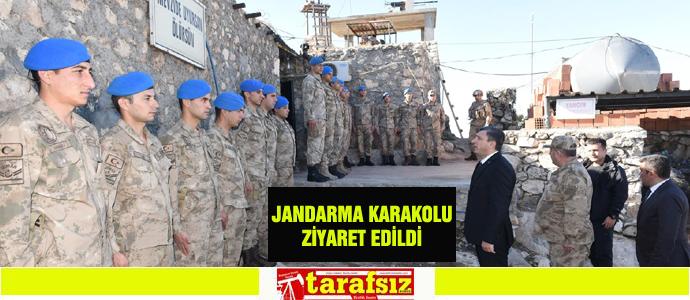 JANDARMA KARAKOLU ZİYARET EDİLDİ