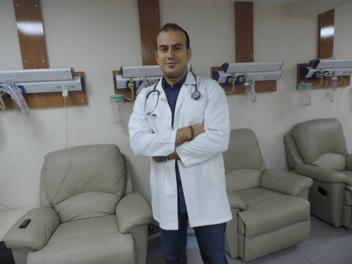 Onkoloji uzmanı göreve başladı