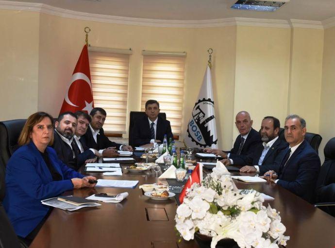 OSB'nin yönetim kurulu toplandı