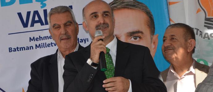 """""""VAKİT BATMAN'A HİZMET VAKTİDİR"""""""