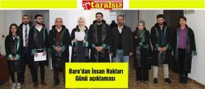 Baro'dan İnsan Hakları Günü açıklaması