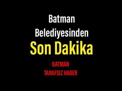 Batman Belediyesin'den son dakika kararı