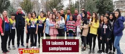 19 takımlı Bocce şampiyonası