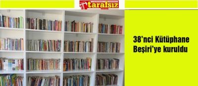 38'nci Kütüphane Beşiri'ye kuruldu
