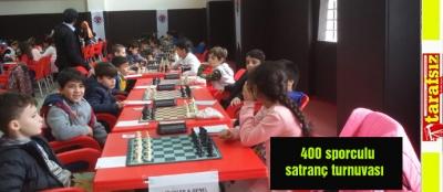 400 sporculu satranç turnuvası