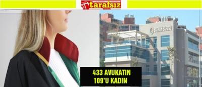 433 AVUKATIN 109'U KADIN