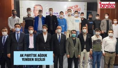 AK PARTİ'DE AĞDUK YENİDEN SEÇİLDİ