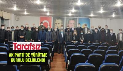 AK PARTİ'DE YÜRÜTME KURULU BELİRLENDİ